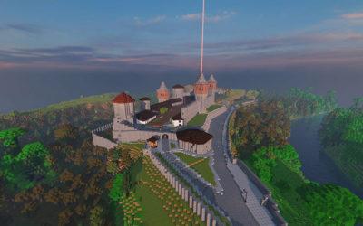 «Respublica» і Кам'янець у відеогрі «Minecraft»