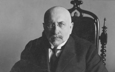 Кароль Ролле, президент Кракова, у робочому кабінеті. 1926 рік