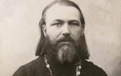 Протоієрей Іоанн Слободськой, який 1915 року вінчав Євстафія й Ольгу